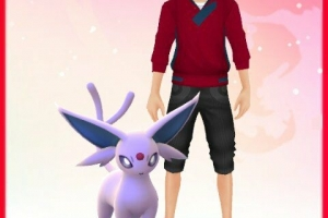 My Avi Wid Espeon (Pokemon Go)